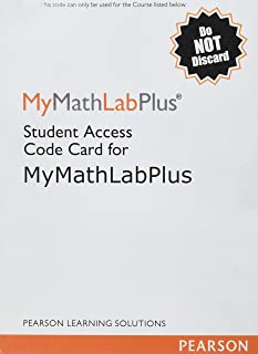 Mymathlab Plus -- Standalone Access Kit