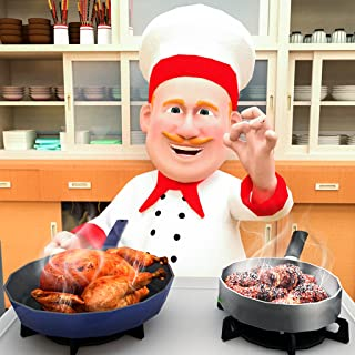 Virtual Chef Cooking Madness 3D: My Restaurant Cooking Games Free
