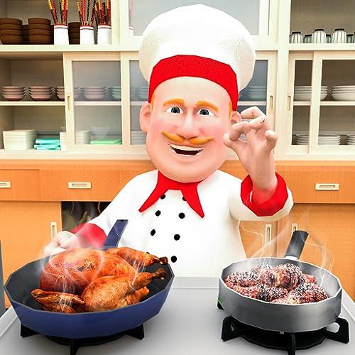 chef virtual cozinhar loucura 3D: meu restaurante jogos de culinária grátis