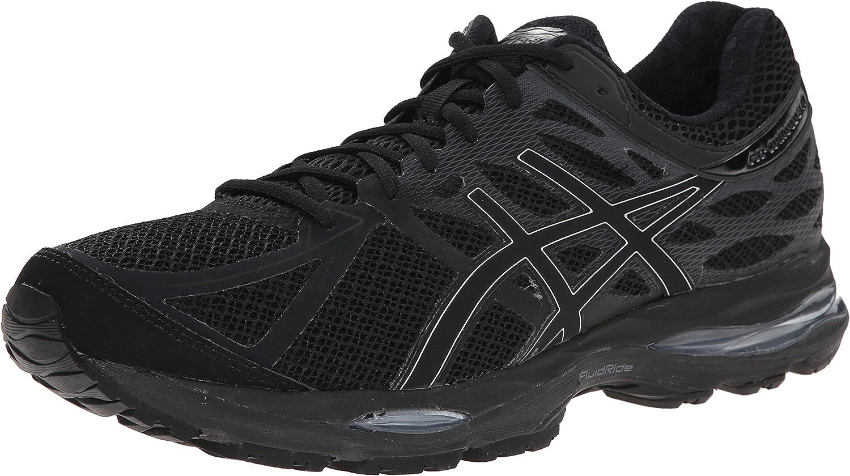 Amazon.com | ASICS Men's Gel Cumulus 17 Running Shoe, Black/Silver ...