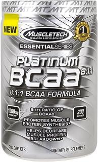 Bcaa 8:1:1 Platinum De Muscletech