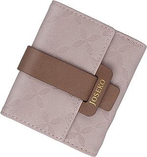Portafogli da donna,JOSEKO portafogli da donna piccoli con cerniere, porta carte, portafogli in pelle PU per ragazze, mini...