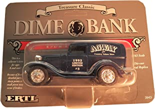 1932 Ford Panel Dime Bank Truck - Blue Limited Edition #3 by Agway