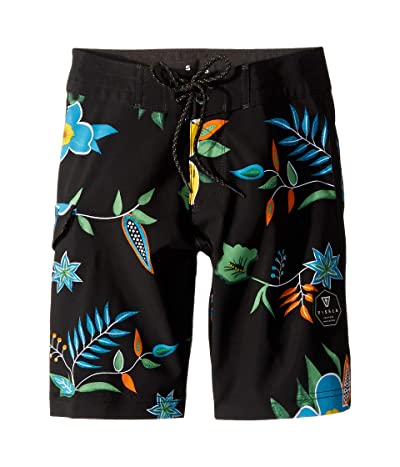 VISSLA Kids Califia Boardshorts (Big Kids) (Phantom) Boy