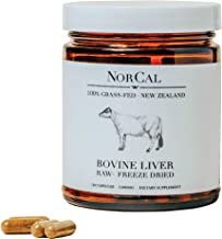 Norcal Beef Liver Capsules
