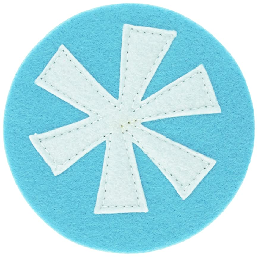 折り目特派員全体にスノーパッチコースター(4枚セット)