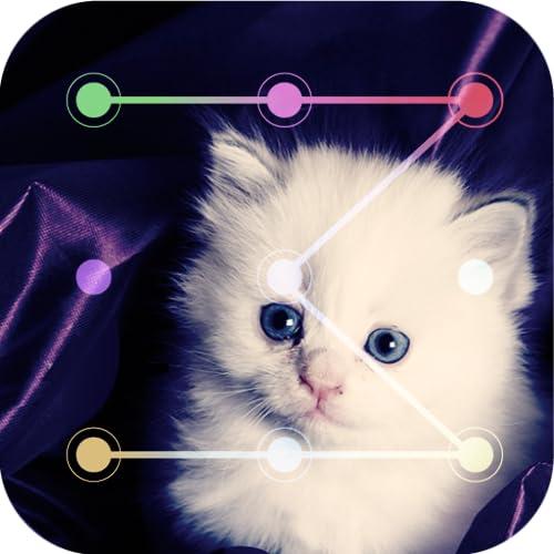 Cute Cat Lock Screen : Cat Pattern Screen Lock