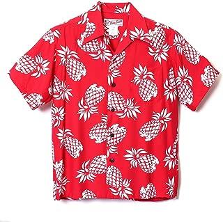 HULA KEIKI (フラケイキ) アロハシャツ【パイナップル】HK-19001 / RED
