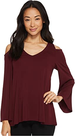 Karen Kane - Cold Shoulder Bell Sleeve Top