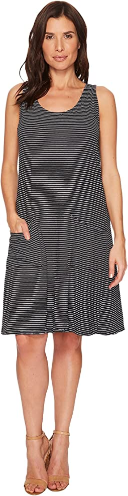 Fresh Produce - Pinstripe Drape Dress