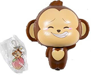 Puni Maru Jumbo Cheeki Squishy Open Smile Closed Eyes Version