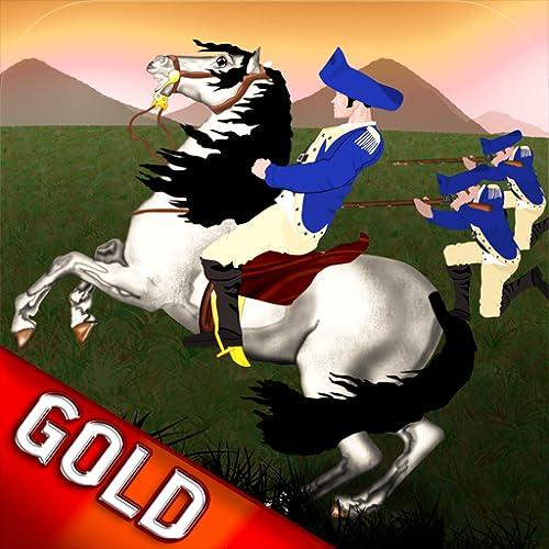 francês guerra revolucionária: comandar o exército da edição soldados a ouro