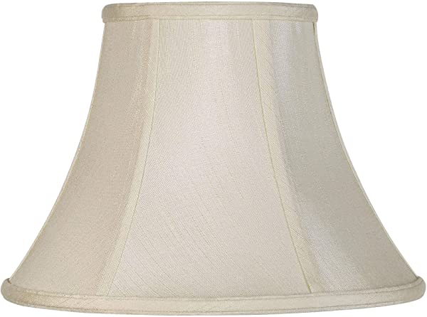 Imperial Collection Creme Bell Lamp Shade 6x12x9 Spider Imperial Shade