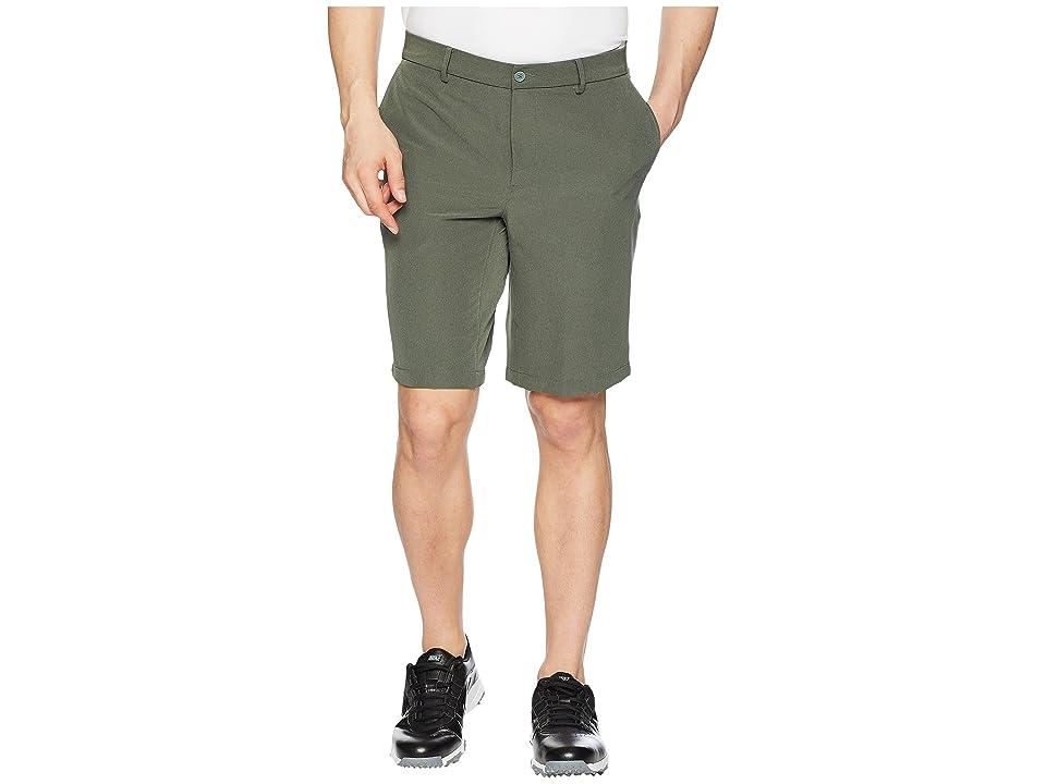Nike Golf Hybrid Woven Shorts (Clay Green/Heather/Clay Green) Men