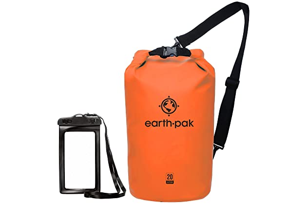 5c694f2c6e54 Earth Pak -Waterproof Dry Bag - Roll Top Dry Compression Sack Keeps Gear  Dry for Kayaking