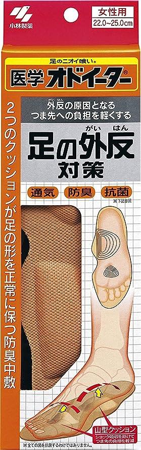 存在拍手香ばしい医学オドイーター 足の外反対策 インソール 女性用22cm~25cm 1足