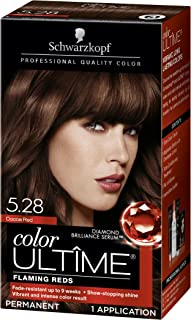 Schwarzkopf Color Ultime Hair Color Cream, 5.28 Cocoa Red (Packaging May Vary)