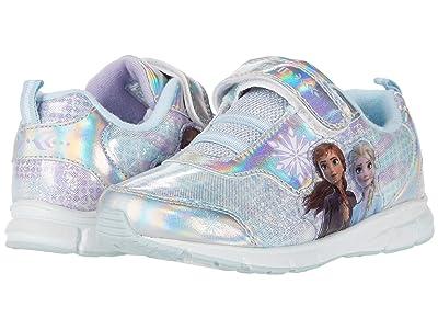 Josmo Kids Frozen II Sneaker (Toddler/Little Kid) (Silver/Blue) Girl
