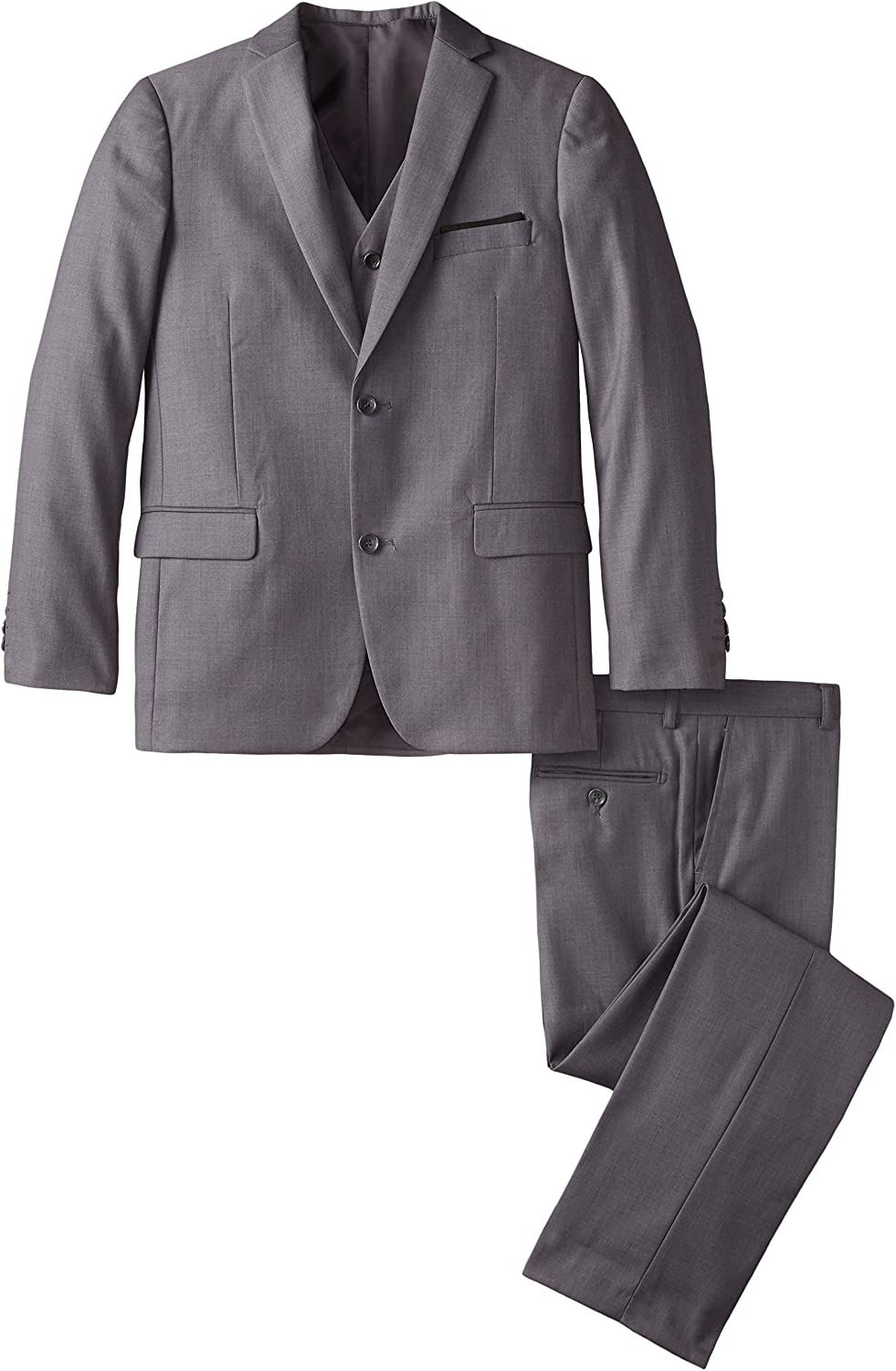 AXNY a.x.n.y Boys' Tailored Piece 3 Suit Solid Finally New color resale start