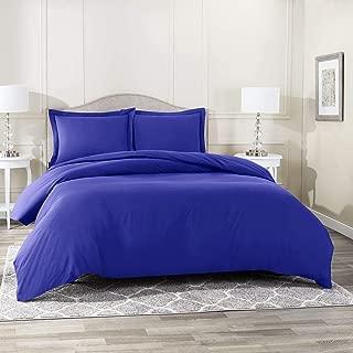 royal blue and yellow comforter