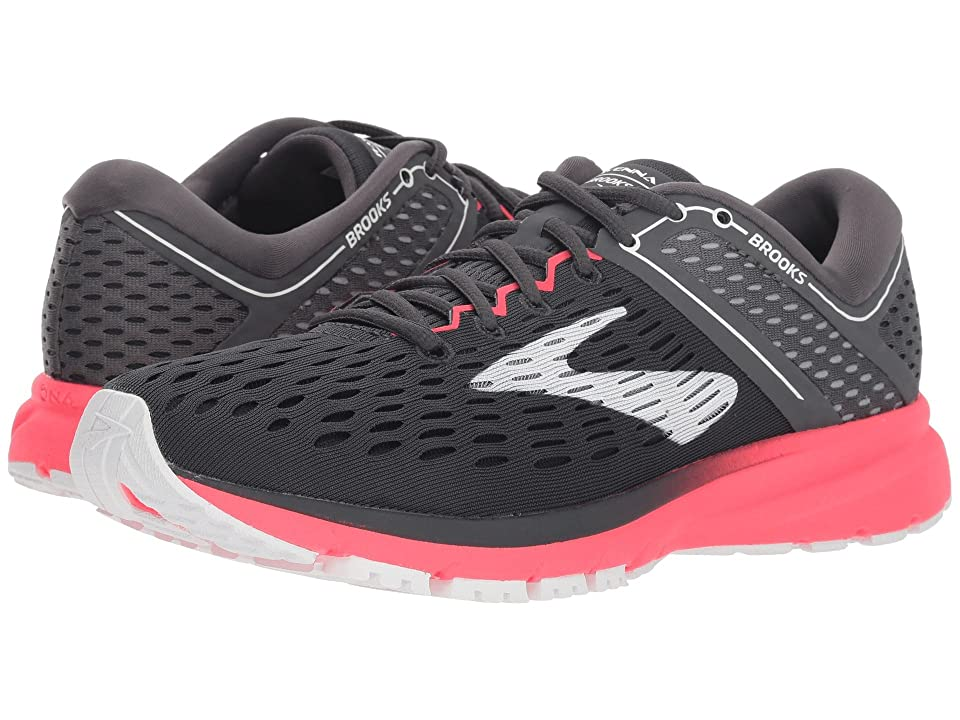 Brooks Ravenna 9 (Ebony/Diva Pink/White) Women