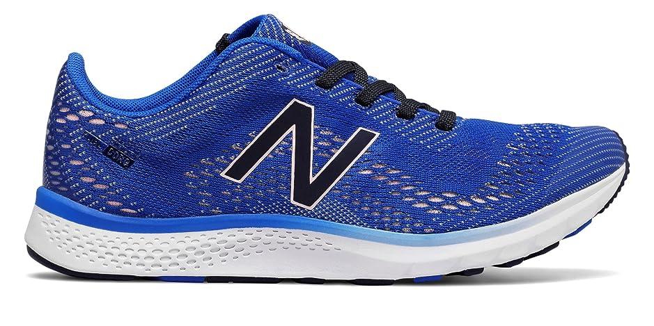 不注意返済スイス人(ニューバランス) New Balance 靴?シューズ レディーストレーニング FuelCore Agility v2 Vivid Cobalt Blue with Sunrise Glo ヴィヴィッド コバルト ブルー グロー US 9 (26cm)