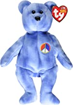 Ty Beanie Baby - Peace Symbol the Bear [UK Exclusive]