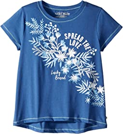 Belinda Short Sleeve Tee Shirt (Big Kids)