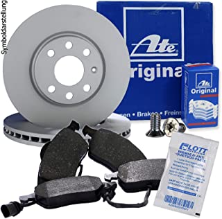 2 Bremsscheiben /Ø280 Bel/üftet Bremsbel/äge ATE P-A-01-00169 Bremsanlage