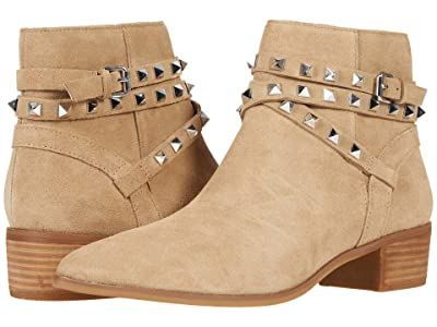 Steve Madden Besto Ankle Boot (Tan Suede) Women