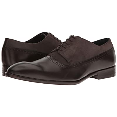 Messico Palmiro (Brown Leather/Grey Suede Leather) Men