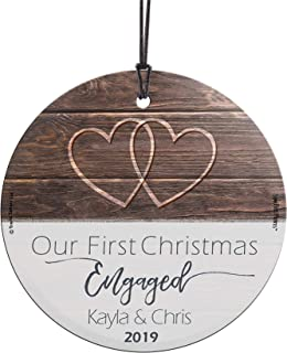 Best glass first christmas ornaments Reviews
