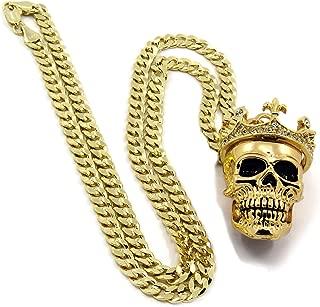 Best gold skull chain Reviews