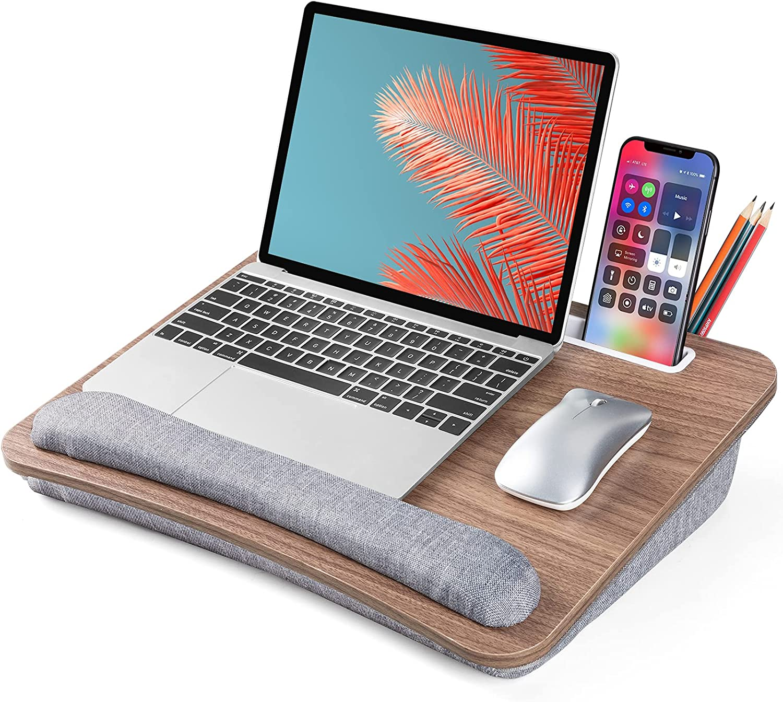 LORYERGO Lap Desk, Lap Desk for Laptop, Fits up to 15.6