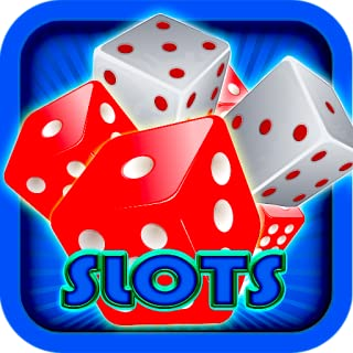 Red White Dots Pattern Slots Games