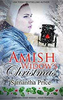 Amish Widow's Christmas: Inspirational Amish Romance (Expectant Amish Widows Book 12)