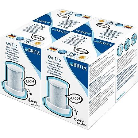 BRITA, Cartouche Filtrante pour On Tap - Pack 4