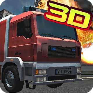 Fire Rescue Truck 3D 2015 Fire Fighter Rush Simulator