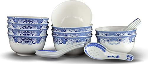 Best blue chinese rice bowls Reviews