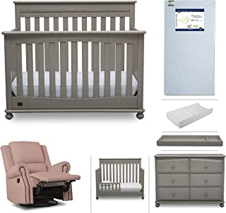 baby crib dresser and changing table set
