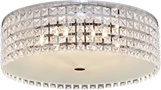 Bazz PL3416ON Decorative Ceiling Fixture, Dimmable, Easy Installation, Bulbs Included, Kitchen, Bedroom, 16