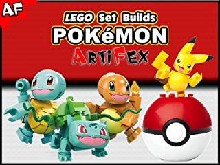 Clip: Lego Set Builds Pokémon - Artifex
