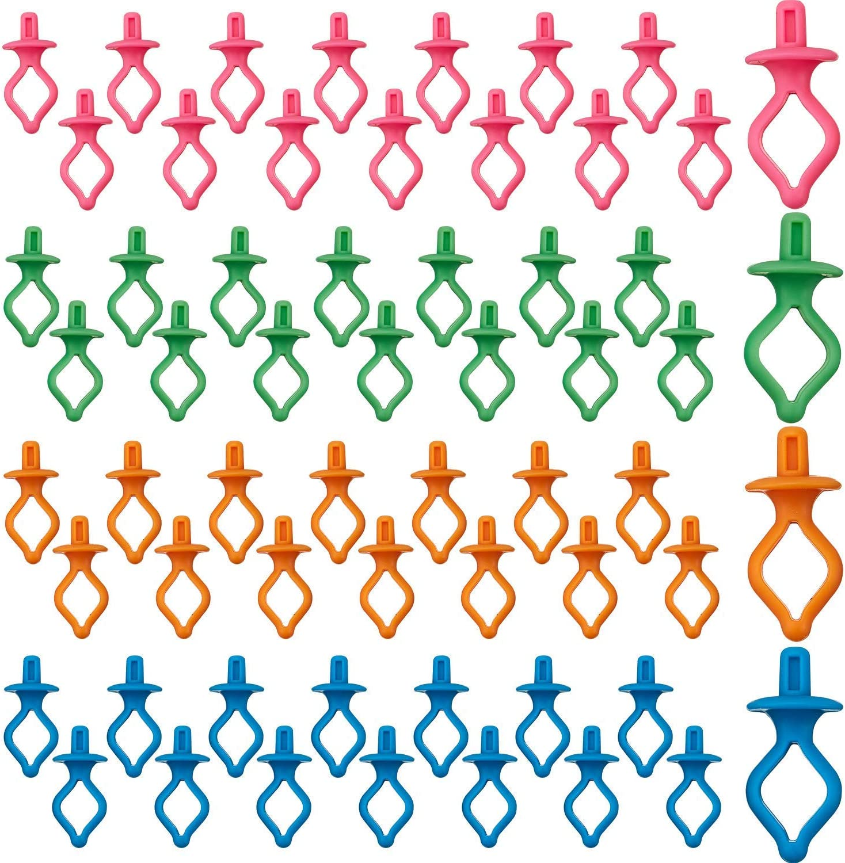 60 Pieces Bobbin Holder Thread Spool Stack on Spo New color Ranking TOP3 Bobbins