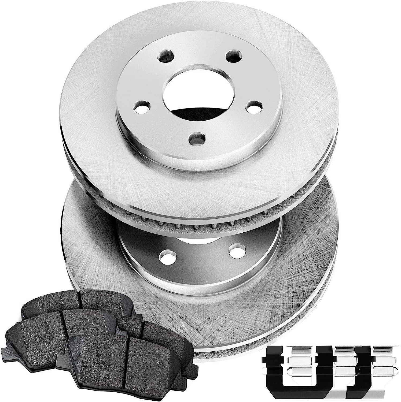 PowerSport Front 超特価 Blank Rotors + 日本限定 Brake BLBF.91008.02 pads Ceramic