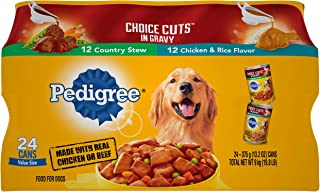 Pedigree Choice CUTS in Gravy Adult Canned Wet Dog Food Variety Packs