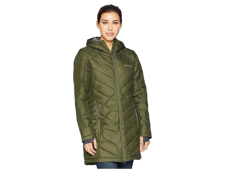 Columbia Heavenly Long Hooded Jacket (Nori) Women