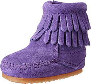 Minnetonka Double Fringe Bootie (Infant)