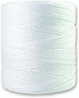 Chapuis PPV3 Polypropylen-Schnur - 68 kg - Titration 10/2 - Durchmesser 2,25 mm - 1 kg - Länge 450 m - Weiß
