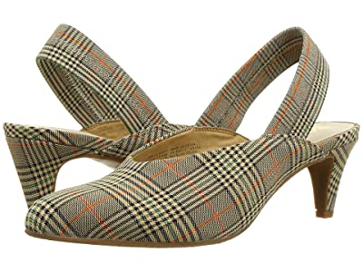 Seychelles BC Footwear By Seychelles Liter (Natural Multi Plaid) Women