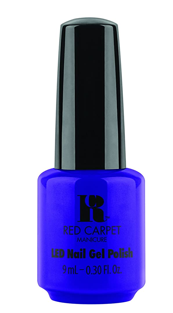 控えめな決定違うRed Carpet Manicure - LED Nail Gel Polish - Re-Luxe A Little - 0.3oz/9ml